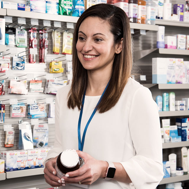 New Pharmacy Owner Counseling a patient on a medication.