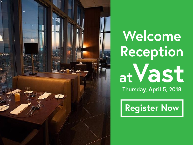 Kick of Idea Exchange 2018 on the right note at Vast for our Welcome Reception.